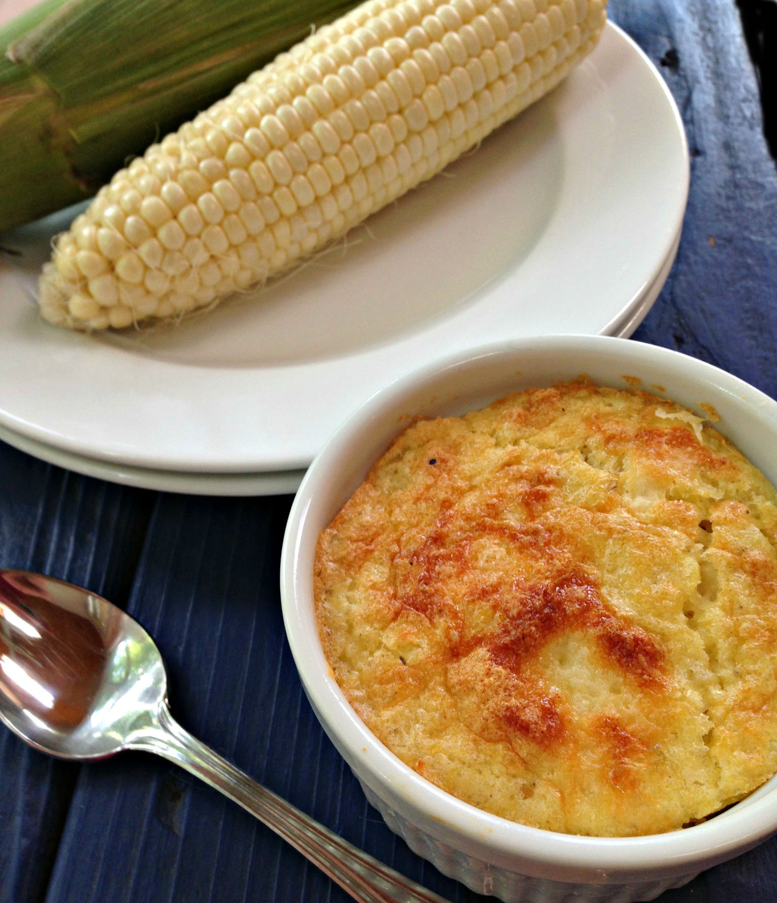 Recipes from the Garden, Individual Indian Corn Pudding