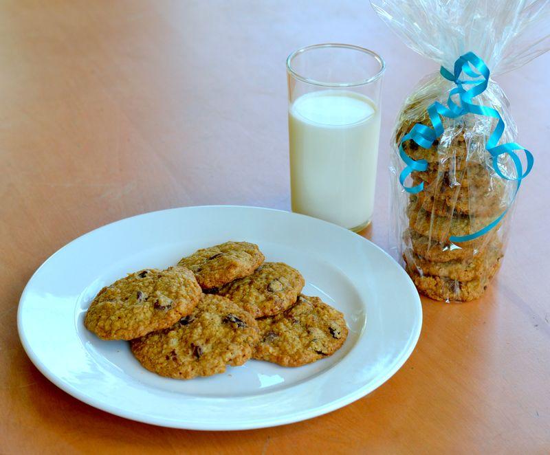 Oatmeal Crispie Cookies