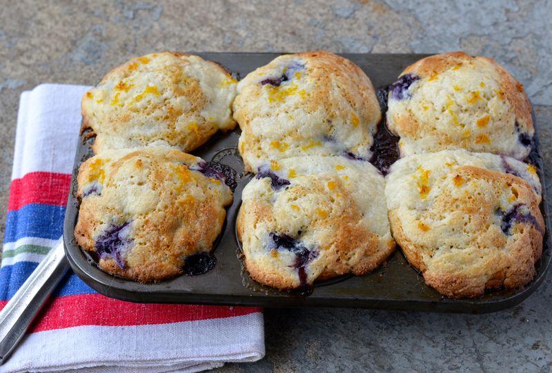 Mascarpone, Ricotta & Blueberry Muffins