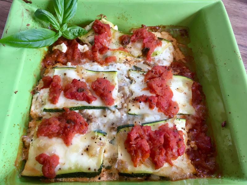 Zucchini lasagna 8-18-18