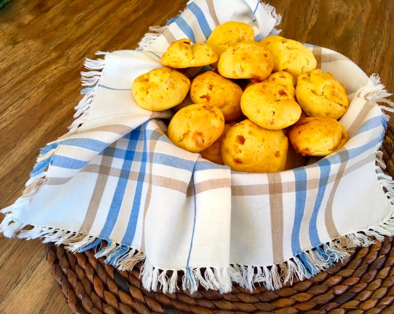 Gougeres cheese puffs